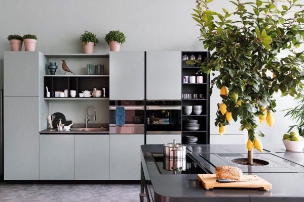 Hans van der Helm Keukens - Italiaans design mat grijs